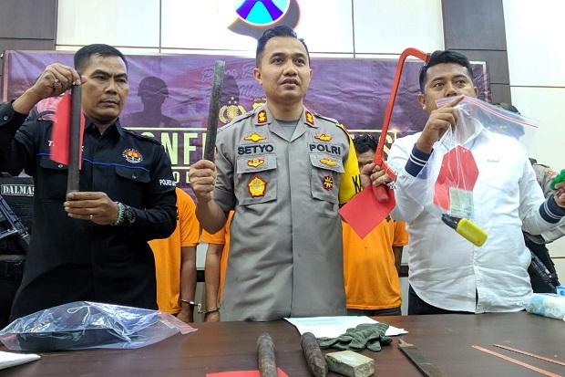 3 Pembobol Gudang Minimarket Dilumpuhkan Resmob Polres Mojokerto