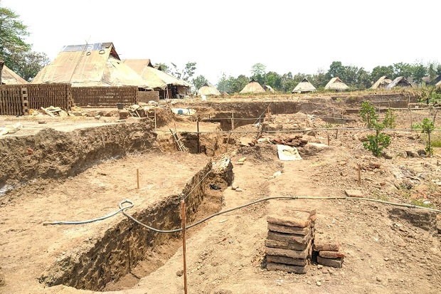 Empat Bulan Ditemukan, BPCP Jatim Eskavasi Situs Kumitir