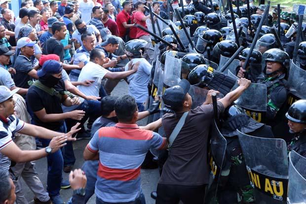 Lanud Iswahjudi Diserang Pendukung Capres, PHH Bertindak Tegas