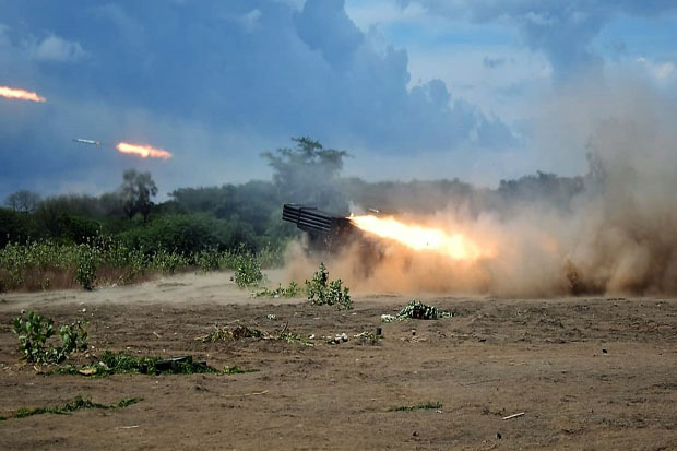 Asah Kemampuan Tempur, 3 Matra TNI Ikuti Latihan Bantuan Tembakan Terpadu