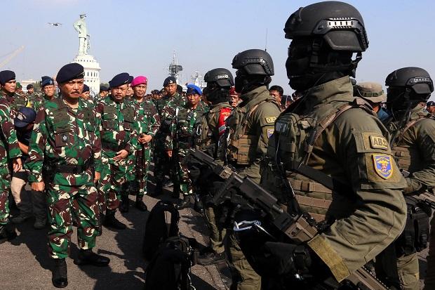 8.493 Prajurit TNI AL Dikerahkan di Dermaga Ujung, Ada Apa?