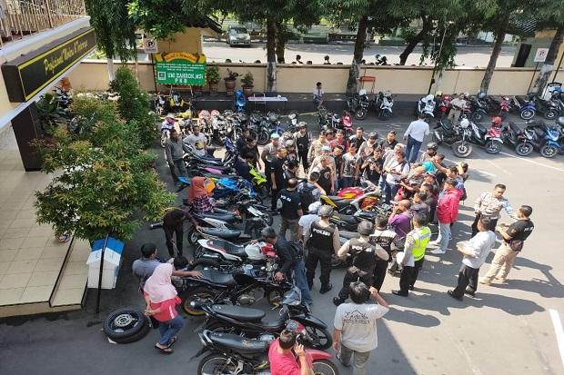 15 Sepeda Motor Bodong Akhirnya Dikembalikan ke Pemiliknya