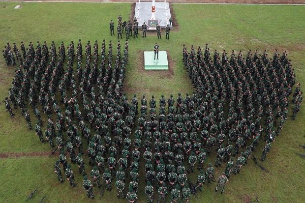 450 Prajurit Kostrad, Bersiap Menuju ke Perbatasan di Papua