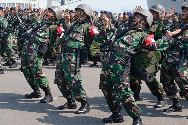 2.497 Prajurit Satgasla PPRC TNI Siaga di Koarmada II, Ada Apa?