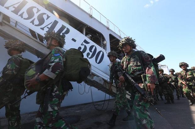 5 KRI dan 6.534 Prajurit TNI AL, Mulai Bergerak ke Situbondo