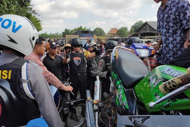 Tim Cobra Obok-obok Pasar Hewan Pathok, Sikat 20 Motor Bodong
