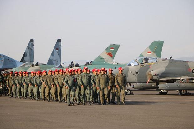 Siap-siap, 67 Pesawat Canggih TNI AU Bakal Terlibat Pertempuran