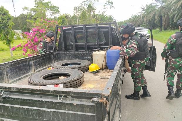 Cegah Penyelundupan, Prajurit Yonif Raider 509 Gelar Razia