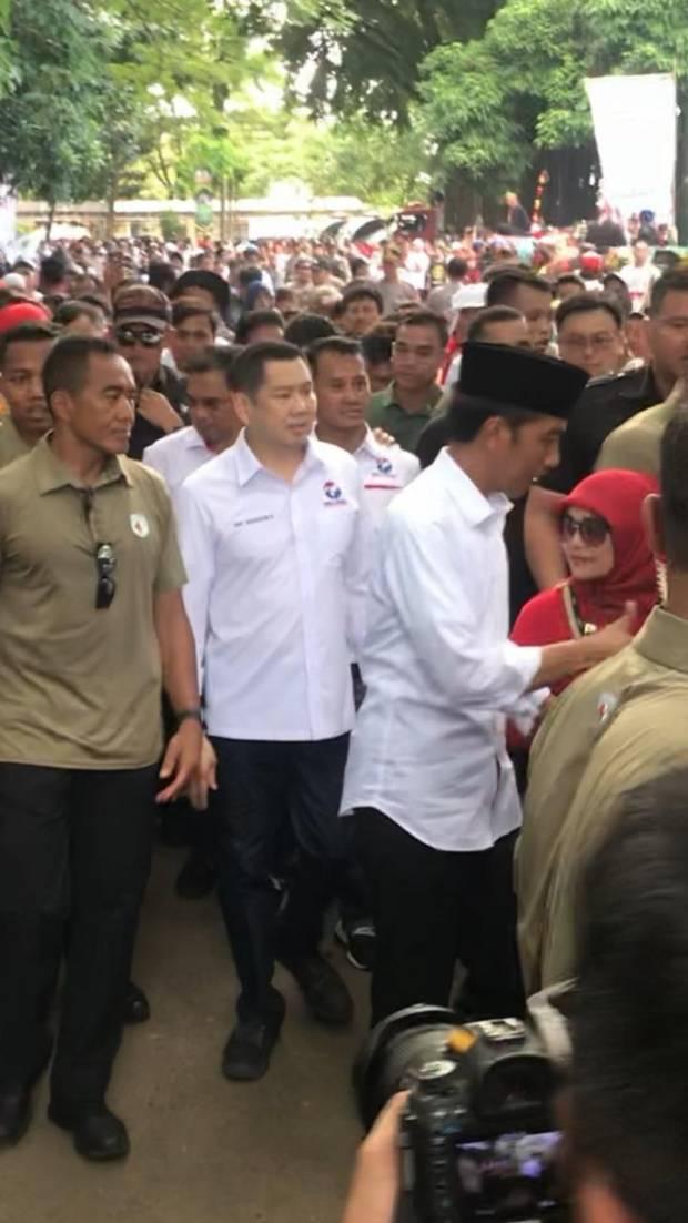 Kerja Keras 3 Minggu ke Depan, Jokowi Targetkan Menang 62%