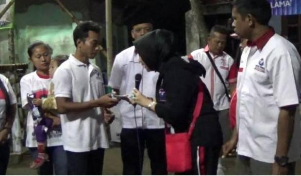 Pemuda Desa dan Caleg Perindo Gelar Turnamen Bola Voli