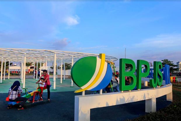 BPJS Ketenagakerjaan Bangun Landmark RTH di Kawasan CPI