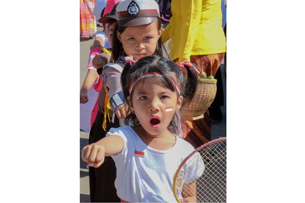 Cerita Foto: Tanamkan Cinta Bangsa Melalui Karnaval Siswa TK