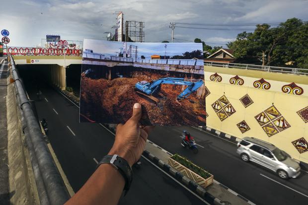 Cerita Foto: Underpass Mandai Penyambung Peradaban Sulsel