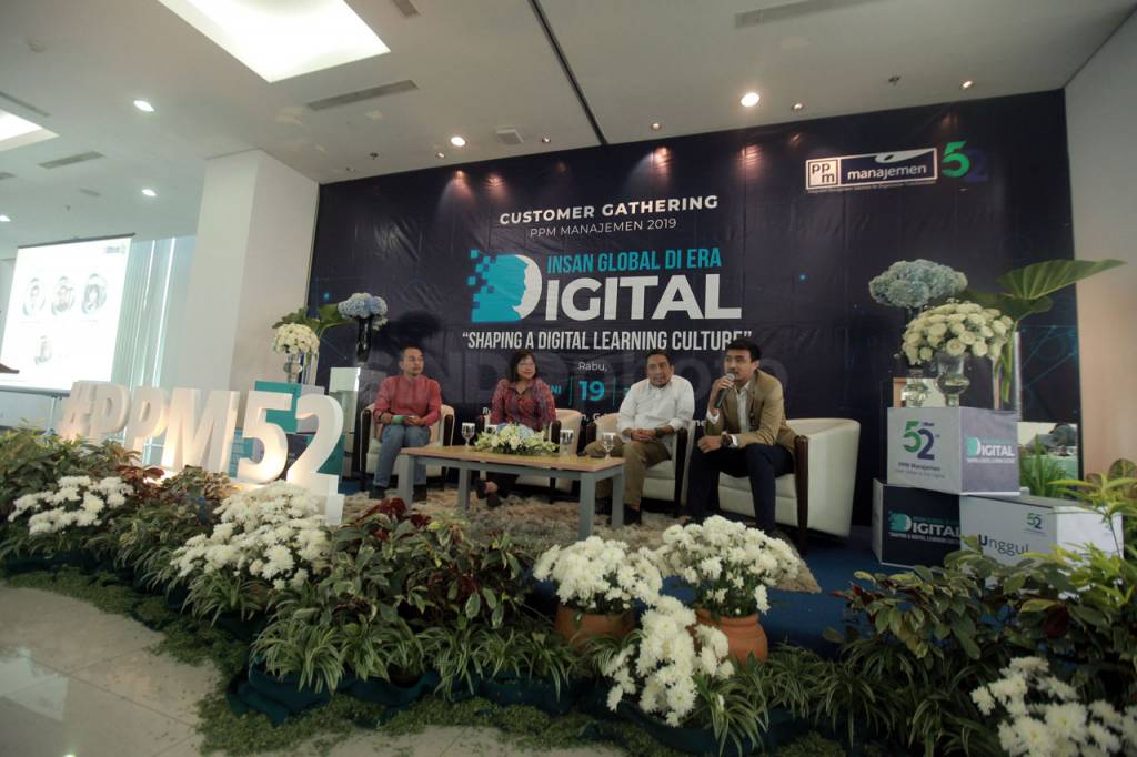 PPM Manajemen Gelar Diskusi Insan Global di Era Digital