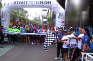 Ratusan Peserta Ikuti Lomba Lari Fun Run The Ramp