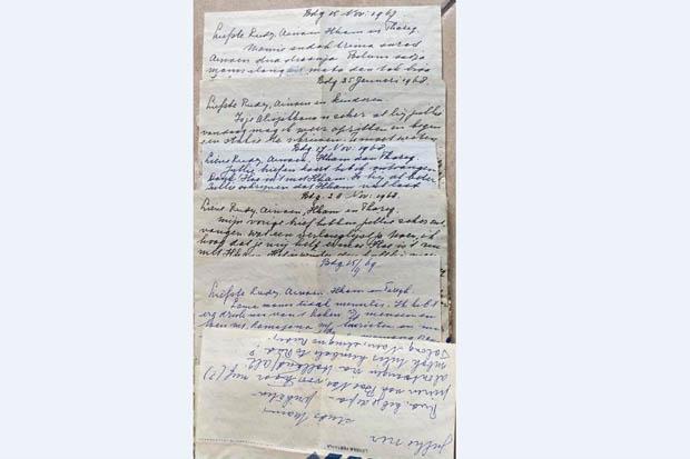 7 Surat Kerinduan Ibunda R.A. Habibie untuk BJ Habibie saat di Jerman Disimpan Dosen Unimed